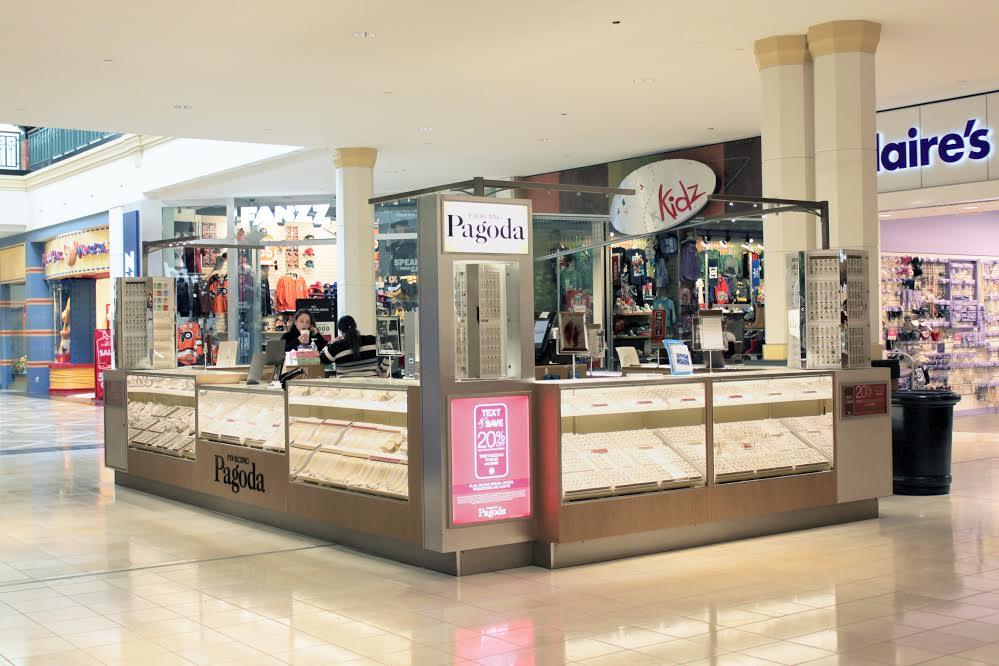 kiosk designs for malls