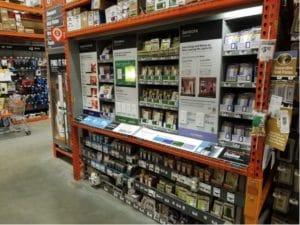 Hardware store fixtures