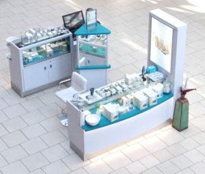 creative kiosk design