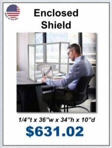 teacher desk shield