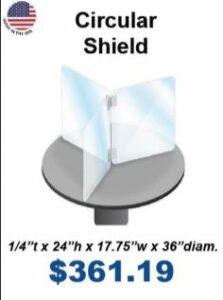 school desk shield